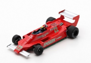 Spark Models S3958 Ensign MN179 F.1 #22 Long Beach GP 1979