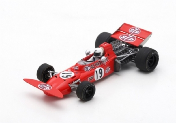 Spark Models S7160 March 711 F.1 #19 Spanish GP 1971