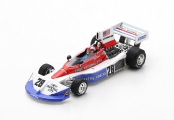 Spark Models S7225 Penske PC3 F.1 Ford #28 Southafrica GP 1976